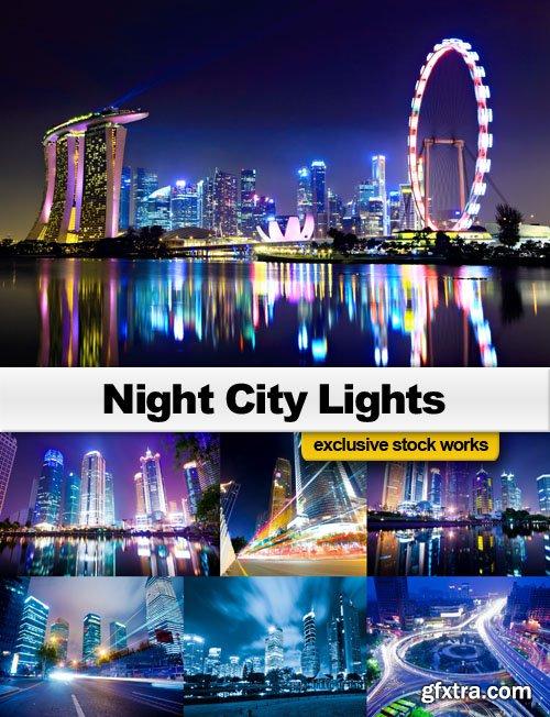 Night City Lights - 25 JPEG