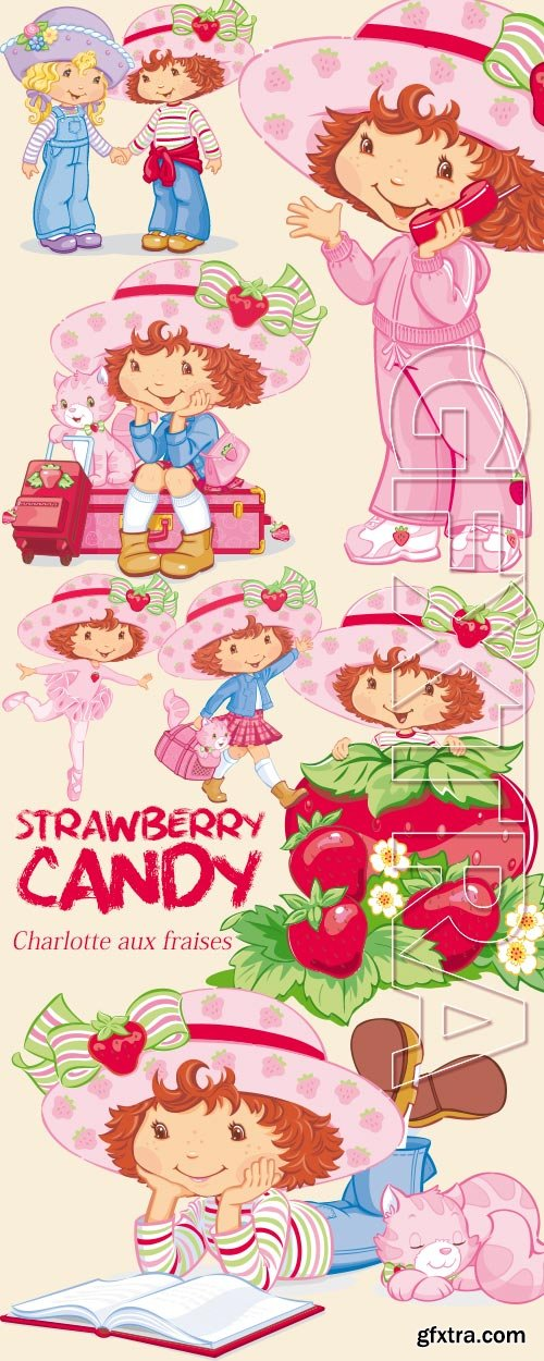 Strawberry Candy 9xEPS