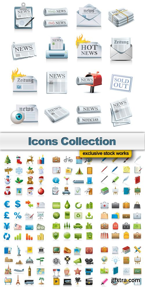 Icons Collection - 25 EPS