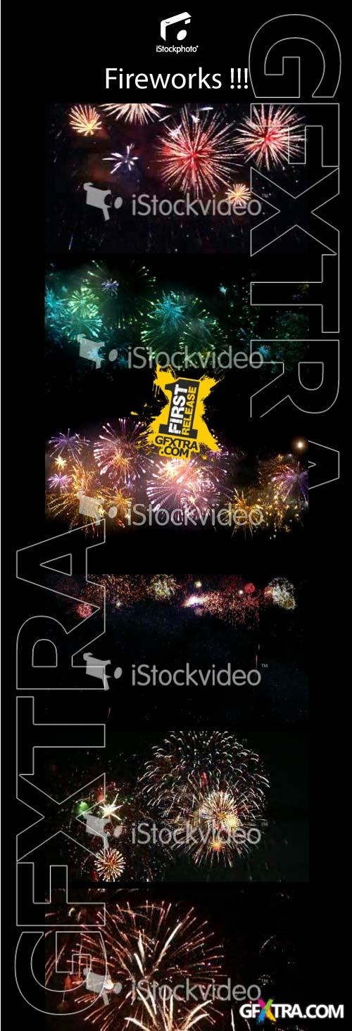 Fireworks 1080p Footage Collection 7xMOV