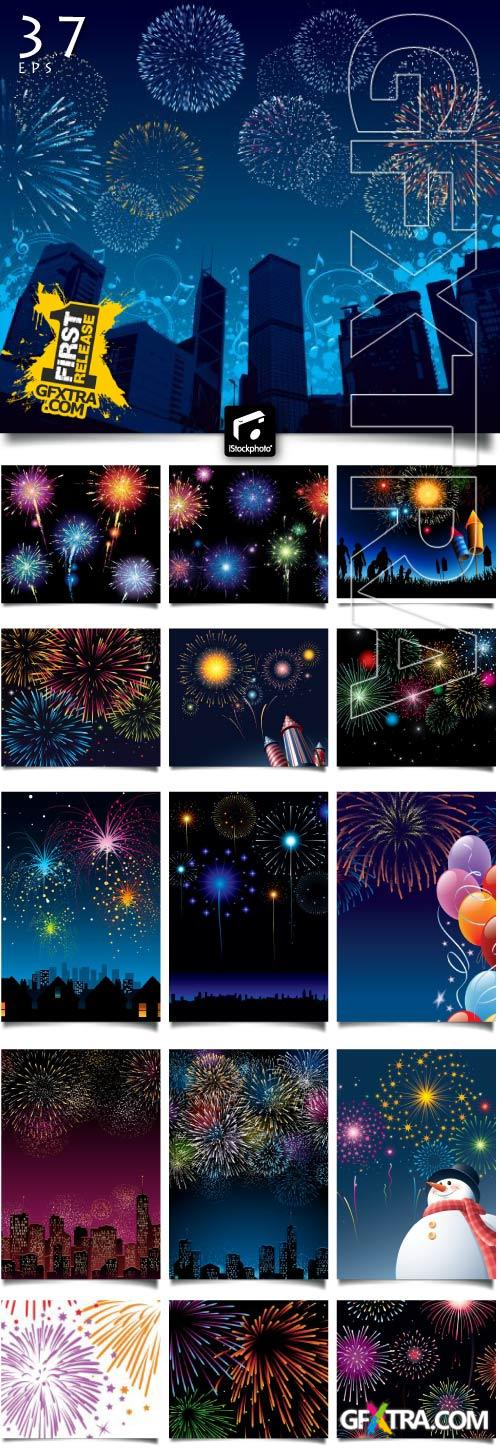 Fireworks Collection 38xEPS