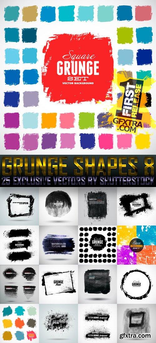 Amazing SS - Grunge Shapes 8, 25xEPS