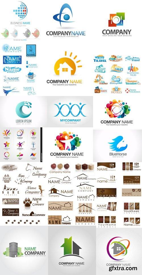 Collection of Logos vol.16, 25xEPS, AI, SVG
