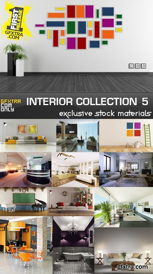 Collection of interiors vol. 5, 25xUHQ