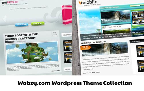 Wobzy.com Wordpress Theme Collection