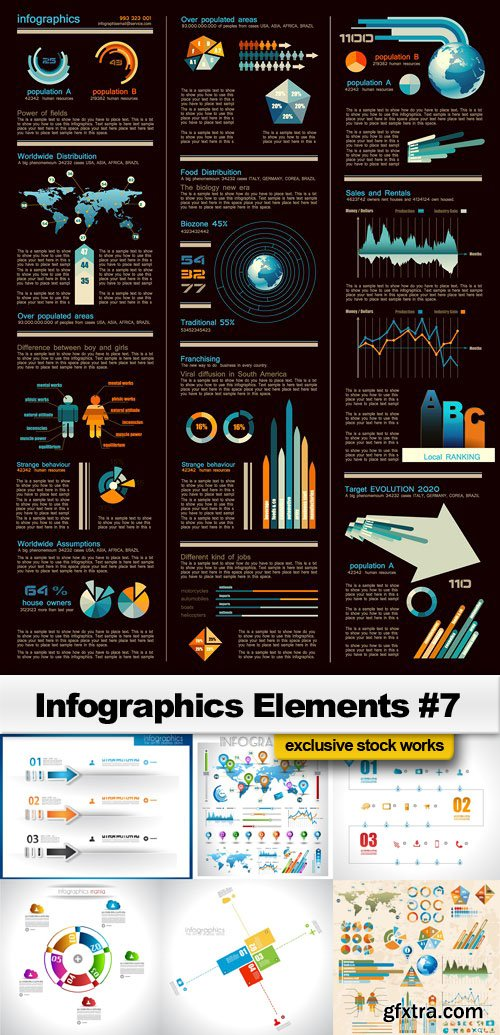 Infographics Elements #7 - 25 EPS