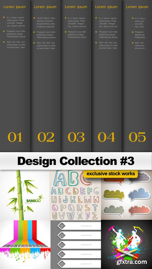Design Collection #3 - 25 EPS