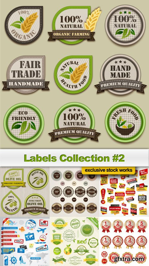 Labels Collection #2 - 25 EPS