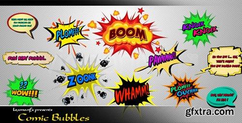 Videohive Comic Bubbles 4045834