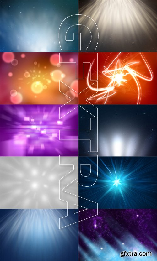 10 Abstract Light Backgrounds