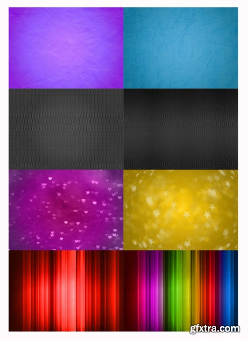 Colorful Backgrounds PSD