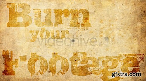 Videohive Burn Smoke Transition