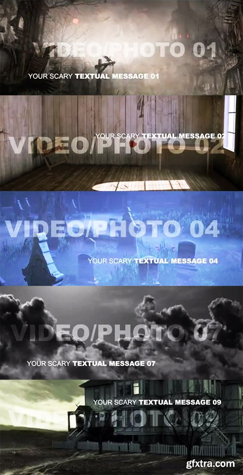 Dark and Scary Movie Titles - After Effects Template