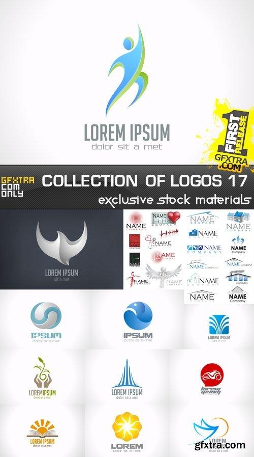 Collection of Logos vol.17, 25xEPS, AI