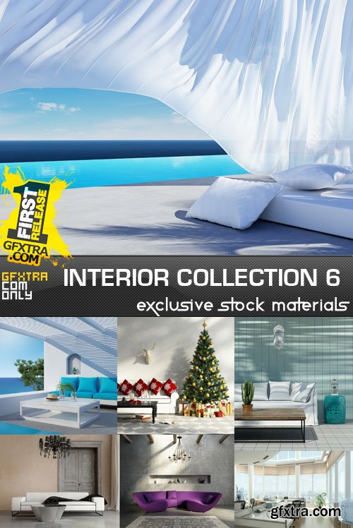 Collection of interiors vol. 5, 25xUHQ JPEG