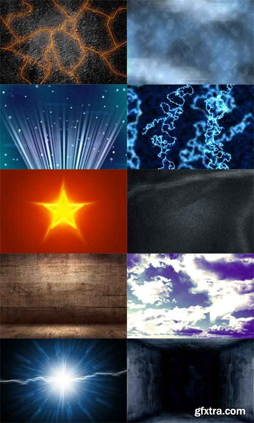 10 Cinematic Backgrounds PSD