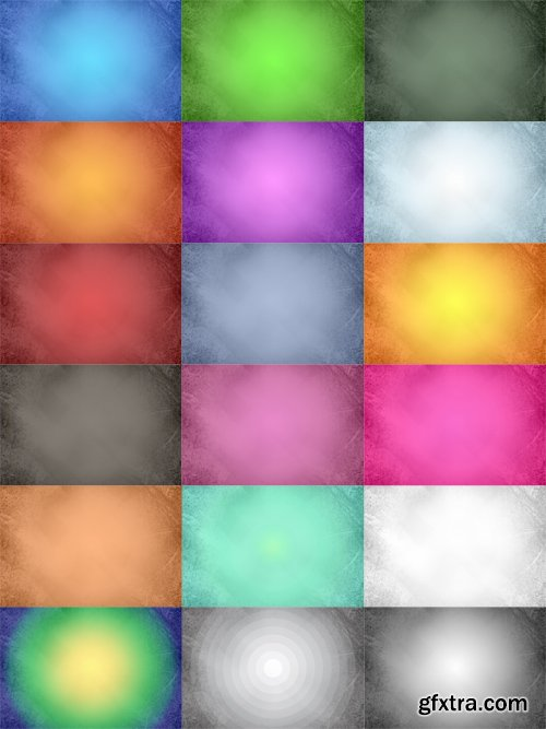 Colorful Slight Grunge Backgrounds