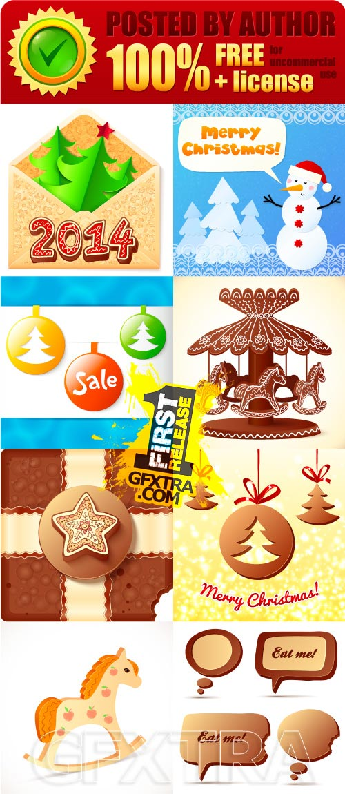 Legal release - Christmas vector clipart