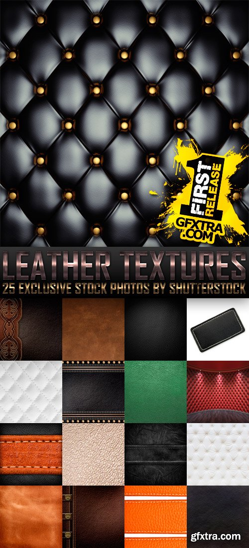 Amazing SS - Leather Textures, 25xJPGs