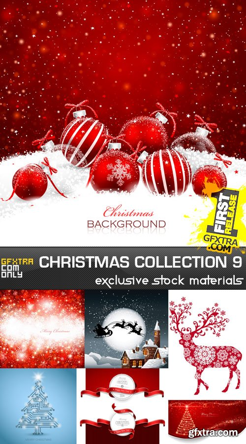 Christmas Collection 9, 25xEPS