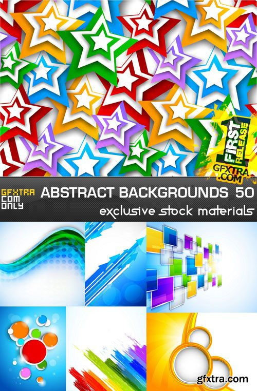 Collection of Vector Abstract Backgrounds Vol.50, 25xEPS