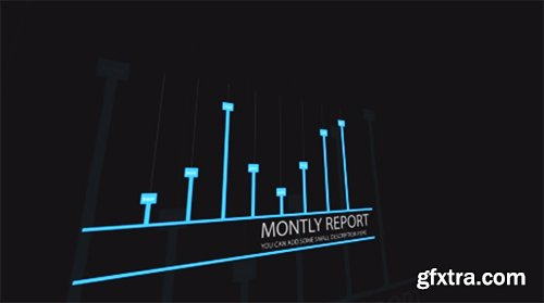Business Report Intro After Effects Template