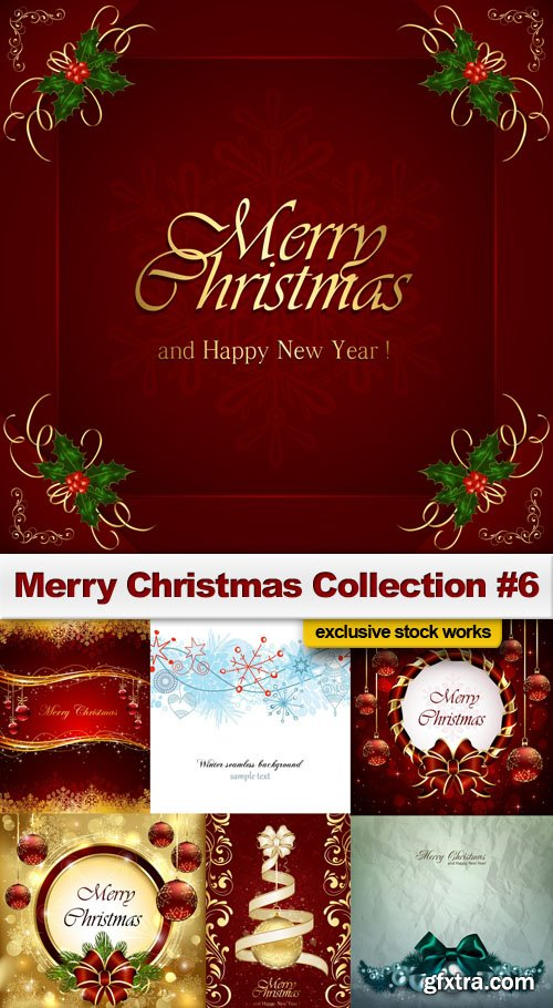 Merry Christmas Collection #6 - 25 EPS