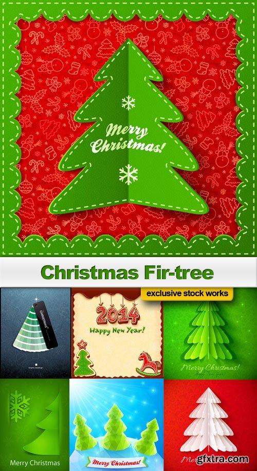 Christmas Fir-tree - 25 EPS