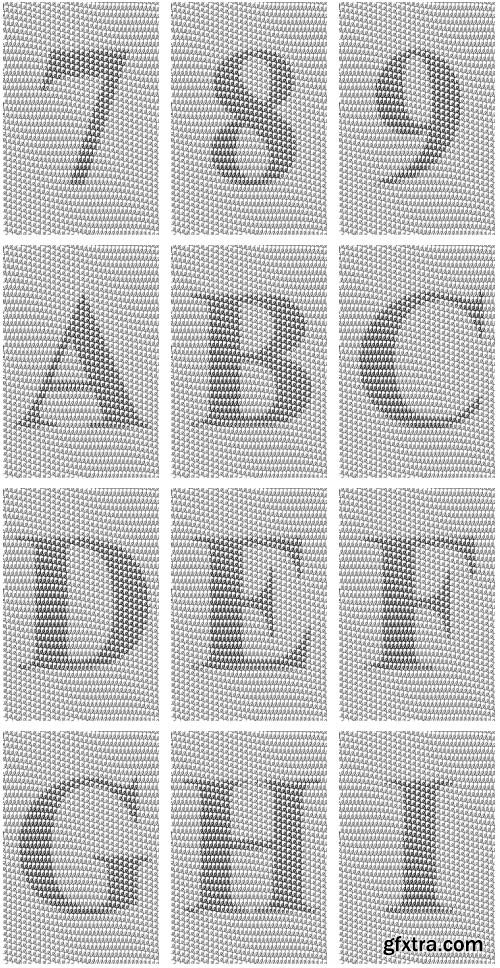 SecuritySoft GLH003 Decorative Grid-cell, Watermarks and Symbols