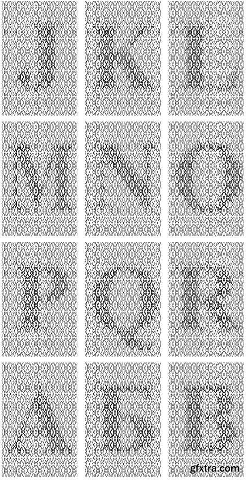 SecuritySoft GLH004 Decorative Grid-cell, Watermarks and Symbols