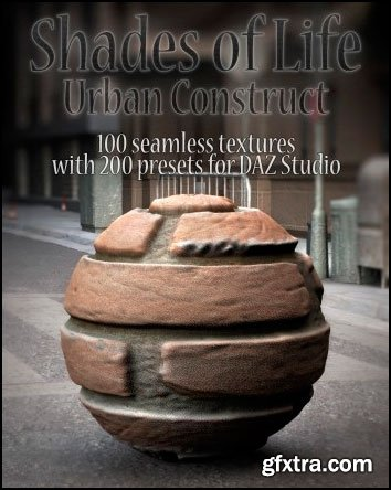 DAZ3D - Shades of Life - Urban Construct