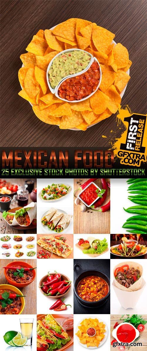 Amazing SS - Mexican Food, 25xJPGs