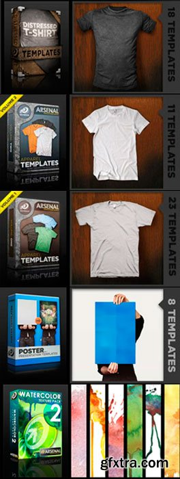 Go Media\'s Arsenal Collection Templates