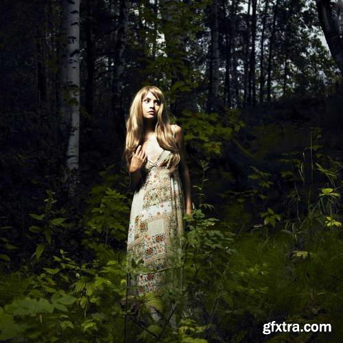 Shutterstock - Ladies in Nature 25xJPG GFXTRA.COM!