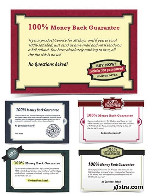Guarantee Certificates PSD Set