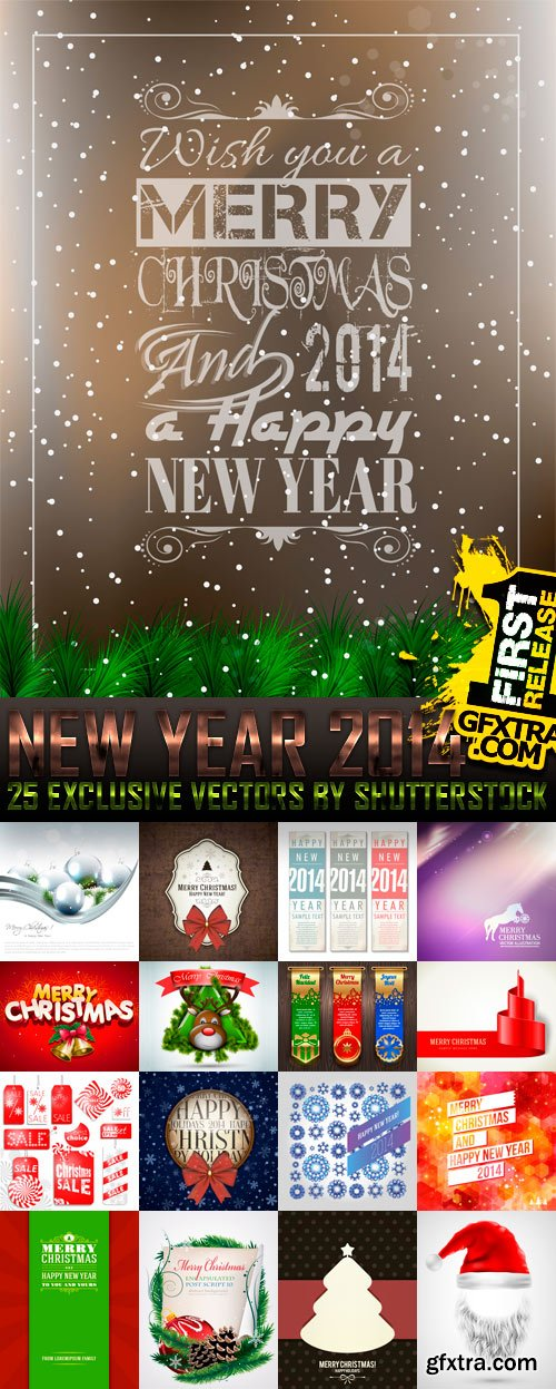 Amazing SS - New Year 2014 (vol.2), 25xEPS