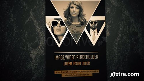 Videohive Grunge Vintage Gallery Slideshow 4427780 (With 8 Sounds)