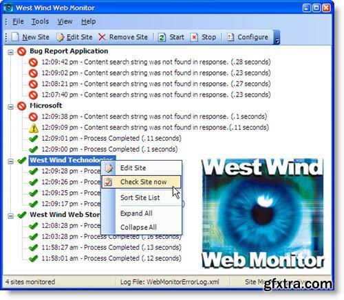 West Wind Web Monitor 3.45