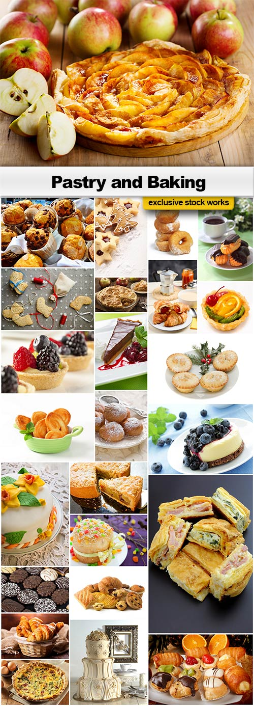 Pastry and Baking - 25x JPEGs
