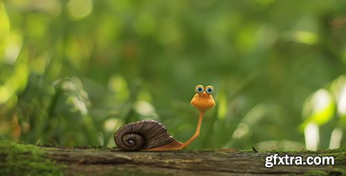 Videohive The Snail Logo Opener 5664814