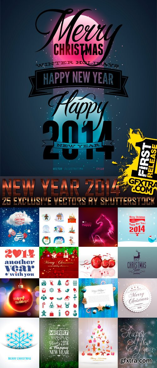 Amazing SS - New Year 2014 (vol.4), 25xEPS