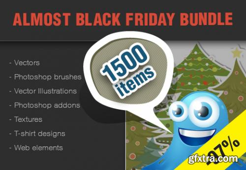 InkyDeals - Almost Black Friday Bundle: $1839 Worth of Design Goodies