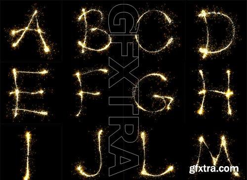 Sparkler Alphabet Pack