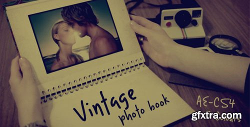 Videohive - Vintage photo book 531252