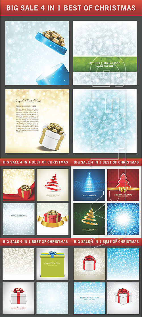 Christmas backgrounds and cards