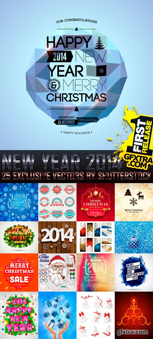 Amazing SS - New Year 2014 (vol.5), 25xEPS