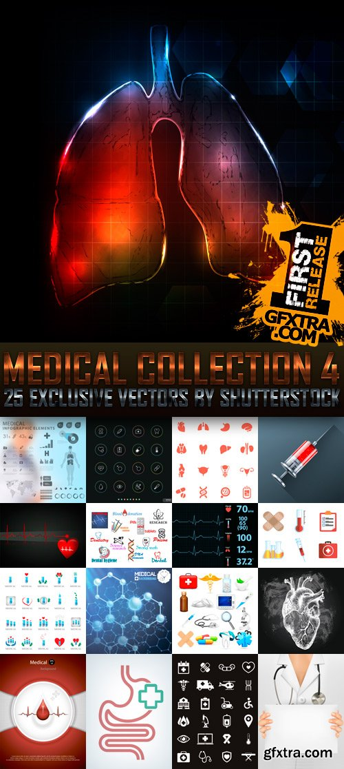 Amazing SS - Medical Collection 4, 25xEPS