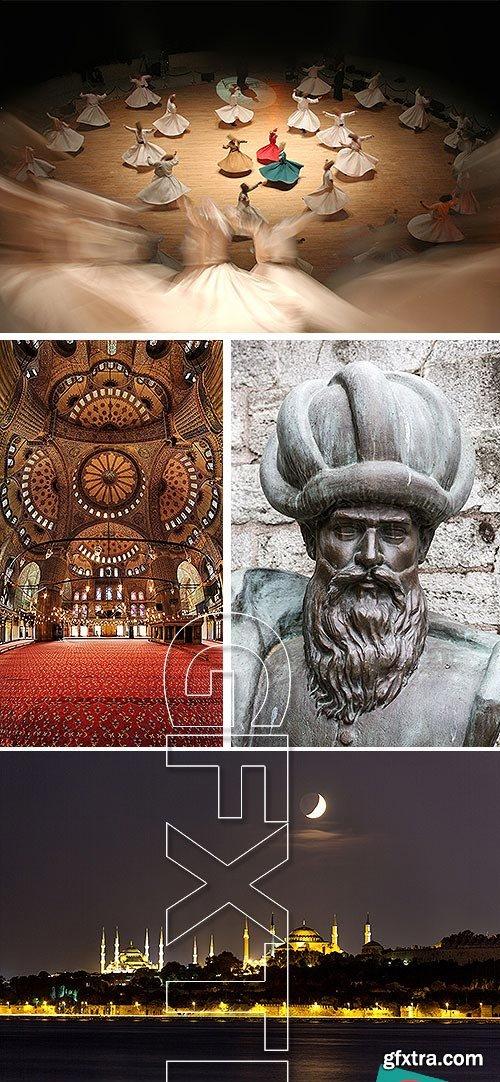 Ottoman Culture 22xJPG, 3xEPS