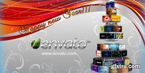 Videohive Sphere Tree Christmas (With Sound FX)