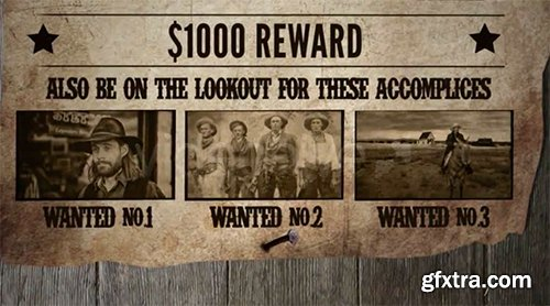 Videohive Most Wanted 182561 (with Alternative Sound)